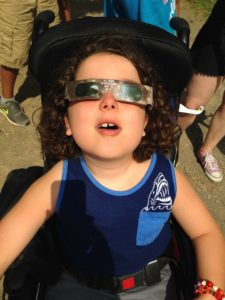 Viewing the eclipse!